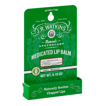 J.R. Watkins Naturals Apothecary Medicated Lip Balm