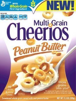 Cheerios Multi Grain Peanut Butter Cereal