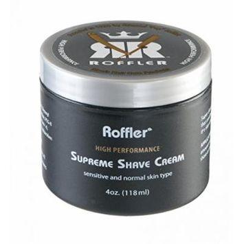 Roffler High Performance Supreme Shave Cream, 4oz (118ml)