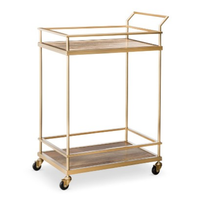 cart: Threshold Bar Cart - Gold