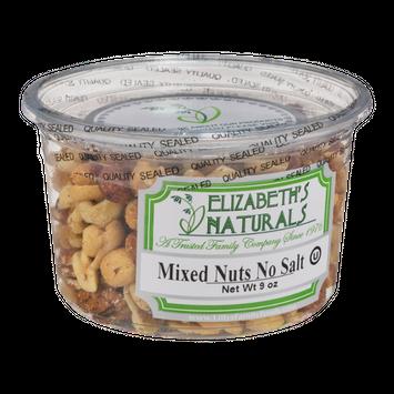 Elizabeth's Naturals Mixed Nuts No Salt
