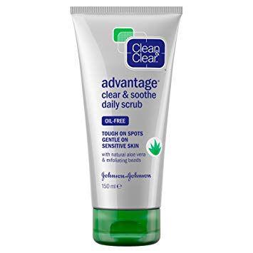 Clean & Clear® Advantage® Clear & Soothe Daily Scrub