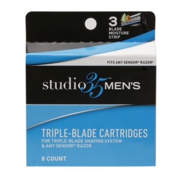 Studio 35 Men's Triple Blade Cartridges