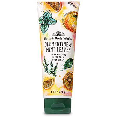 Bath & Body Works Clementine & Mint Leaves Ultra Shea Body Cream 226g