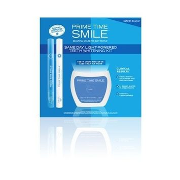 Prime Time Go Smile Same Day Light-Powered Teeth Whitening Lit, 3 Count