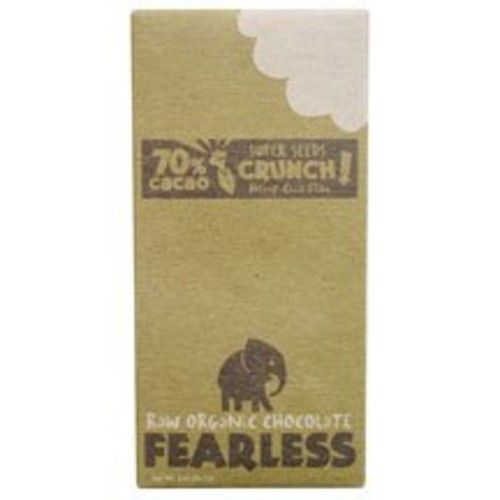 Fearless Chocolate Organic Super Seeds Candy Bar 2 oz. (Pack of 11)
