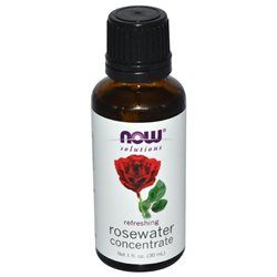 NOW Foods Solutions Rosewater Concentrate - 1 fl oz