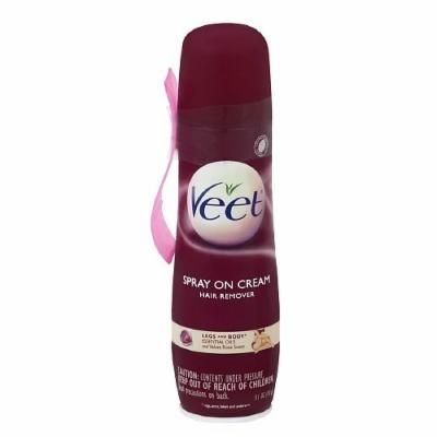 Veet Spray Cream Hair Remover Legs And Body Essential Oils
