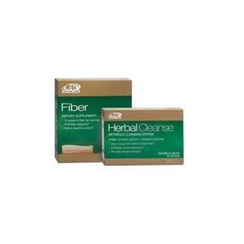 AdvoCare Herbal Cleanse & Fiber PEACHES & CREAM (kit) , Herbal Cleanse 20 Capsules & Fiber 10 Pouches