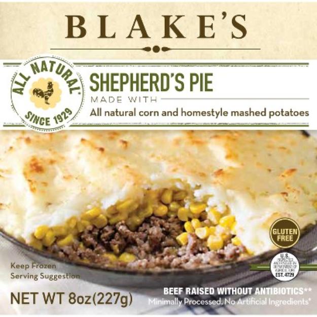 Blake's All Natural Foods Blake's All Natural Shepherds Pie 8 oz