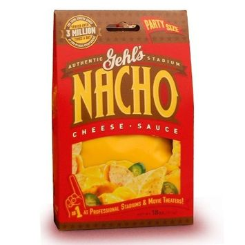 Gehl's Premium Nacho Cheese Sauce, 18-Ounce (Pack of 6)