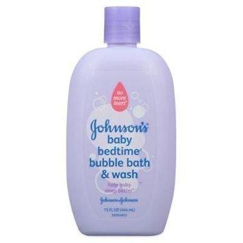 Johnson & Johnson Baby Bedtime ' 15 Oz. Bubble Bath & Wash