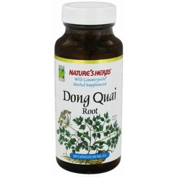 Nature's Herbs Dong Quai Root -- 100 Capsules