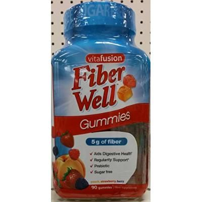 Vitafusion Fiber Well Gummies, 90ct