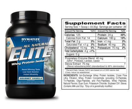Elite  Whey Protein Shake Vanilla Flavor