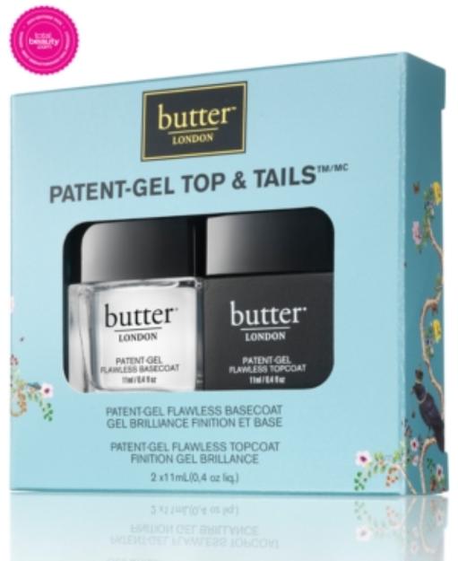 butter LONDON Patent-Gel Top & Tails, 1 ea