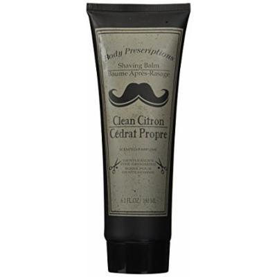 Body prescriptions after shave - shaving balm - clean citron - 8.1 fl oz - 180 ml - gentlemen's fine grooming