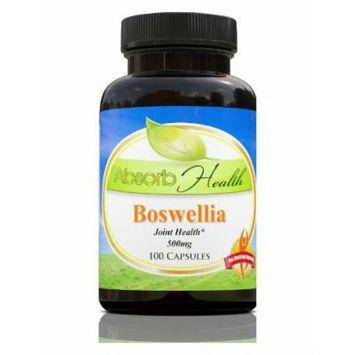 Boswellia (65% Boswellic Acid) , 100 Capsules 500mg Per Capsule , Powerful Anti-Inflammatory