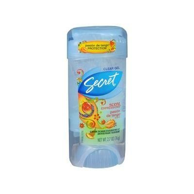 Secret Scent Expressions Antiperspirant/Deodorant Clear Gel, Pasion de Tango 2.7 oz