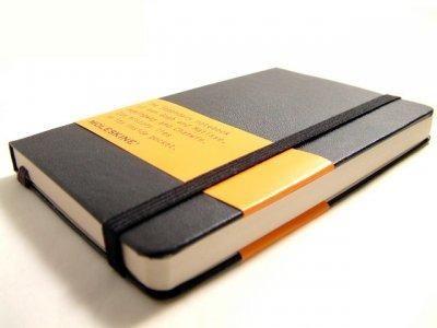 Slide: Moleskine Notebooks