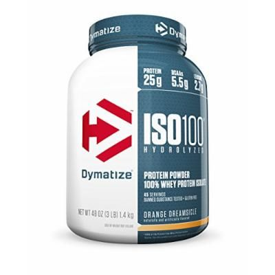 Dymatize Nutrition ISO-100 Pre-Workout Supplement, Orange Dreamsicle, 3 Pound ( Packaging may vary )