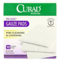 "Curad Bandages and Dressings Pro-Gauze Pads - Pad, Pro Gauze, 2"" x 2"
