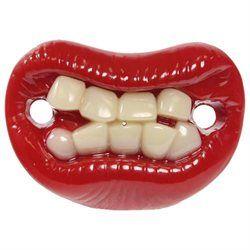 Billy Bob Teeth 50020 Lips with Teeth Pacifier