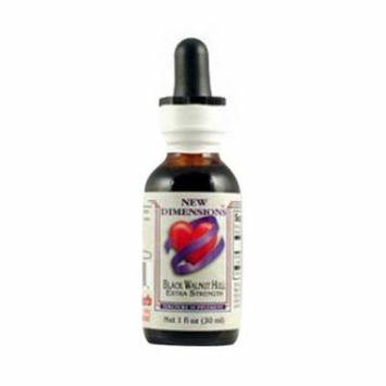 Kroeger Herb Black Walnut Hull Extract Liquid - 1 Oz