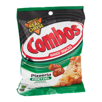 Combos Baked Snacks Pizzeria Pretzel