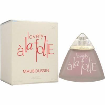 Mauboussin Lovely A La Folie for Women Eau de Parfum, 3.3 oz