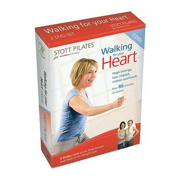 STOTT PILATES Walking for Your Heart 2 DVD Set