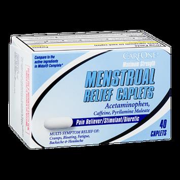 CareOne Menstrual Relief Caplets Maximum Strength - 40 CT