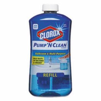 Pump 'N Clean Bathroom Cleaner, Rain Clean Scent, 24 oz Pump Bottle,