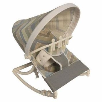 Hoohobbers Chevron Blue Rocking Infant Rocker Seat