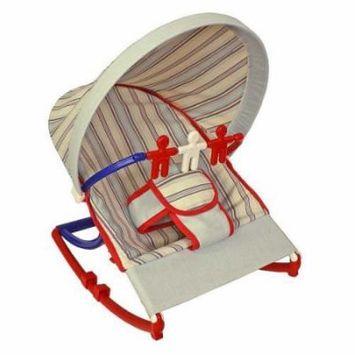 Hoohobbers Stellar Stripes Rocking Infant Rocker Seat