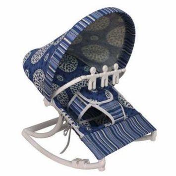 Hoohobbers Medallion Blue Rocking Infant Rocker Seat