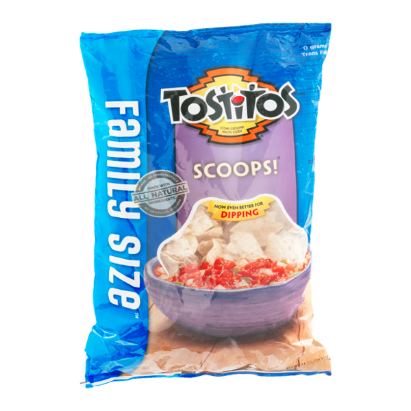 Tostitos® Scoops Tortilla Chips Family Size