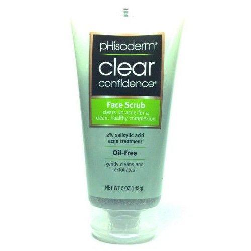 Phisoderm Clear Confidence Face Scrub 5 Oz. Oil Free