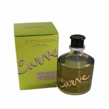 Curve Aftershave Splash Lotion 4.2 Oz / 125 Ml for Men by Liz Claiborne
