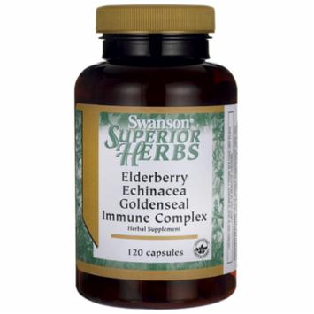 Swanson Elderberry Echinacea Goldenseal Complex 120 Caps