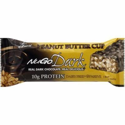 NuGo Dark Peanut Butter Cup Nutrition Protein Bars, 1.76 oz, 12 count