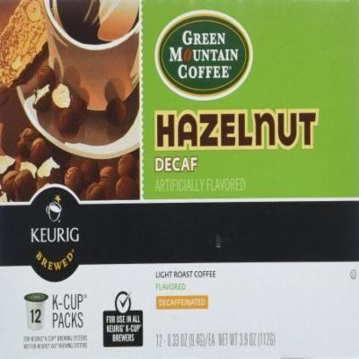 Green Mountain Hazelnut Decaf Cofee, 3.9 OZ (Pack of 6)