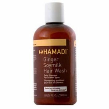 Hamadi Beauty Ginger Soymilk Hair Wash, 12.0 oz.