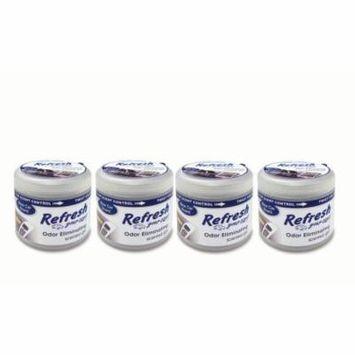 4-Pack Refresh Your Car Gel Can 4.5oz New Car Car Air Freshener