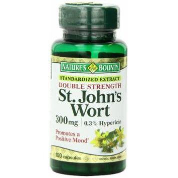 Nature's Bounty St. John's Wort Double Strength Capsules, 300 mg, 2 Count