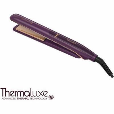 "Remington T Studio Thermaluxe Ceramic Hair Straightener Flat Iron, 1"" Wide, S9110"