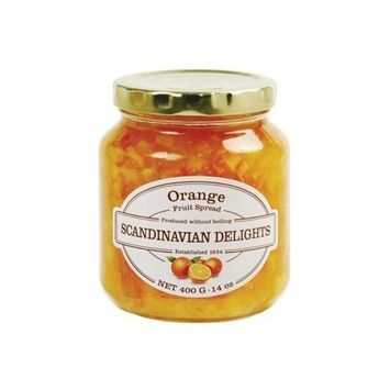 Pioneer Valley Elki's Gourmet Scandinavian Delights Preserves, Orange, 14 Ounce