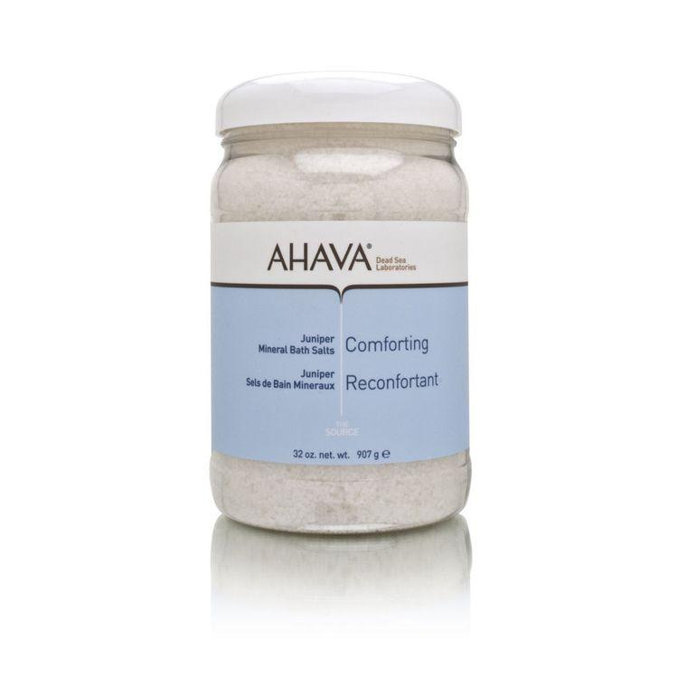 AHAVA Comforting Juniper Mineral Bath Salts 907g/32oz