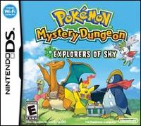 Nintendo of America Pokemon Mystery Dungeon Explorers Sky