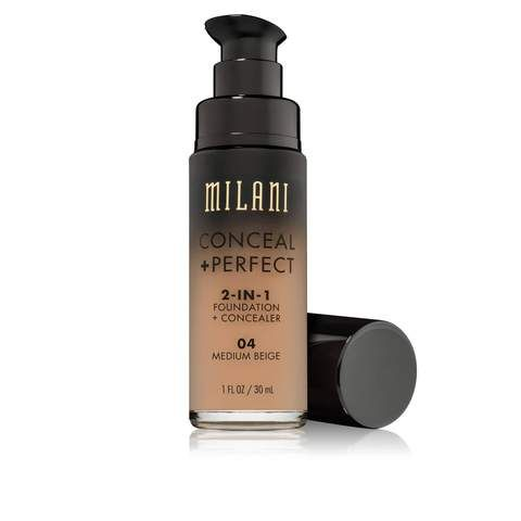 Milani Conceal + Perfect 2-in-1 Foundation + Concealer, Light Natural